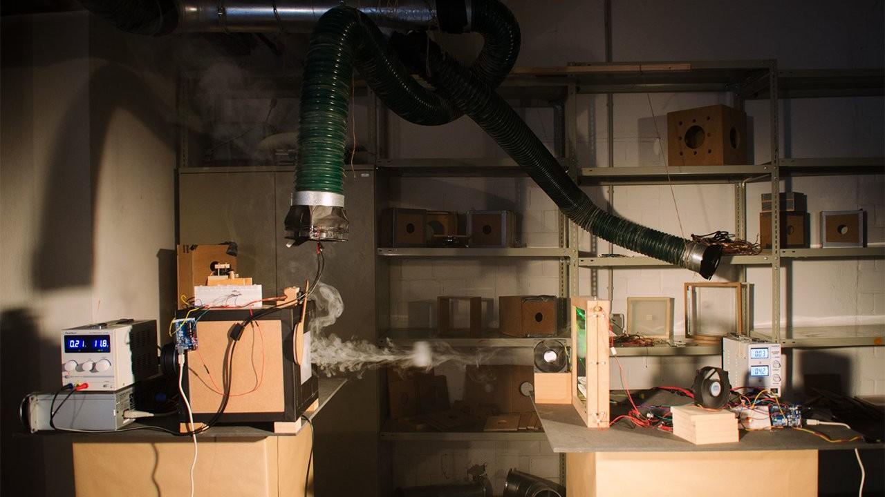 Transfert de données en signaux de fumée
