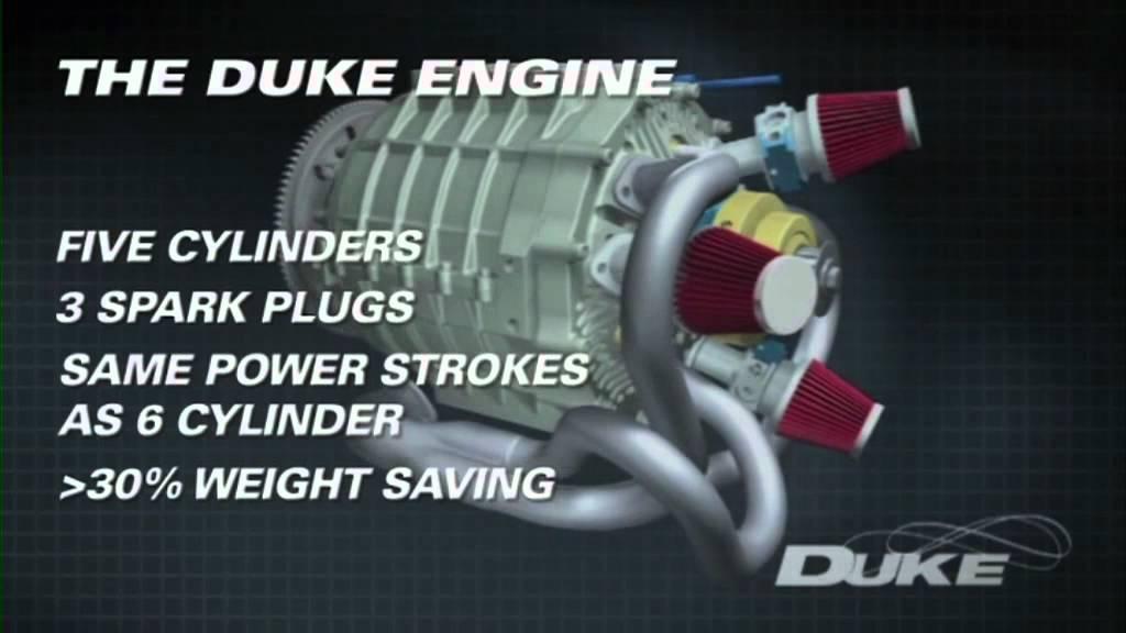 Un moteur axial
