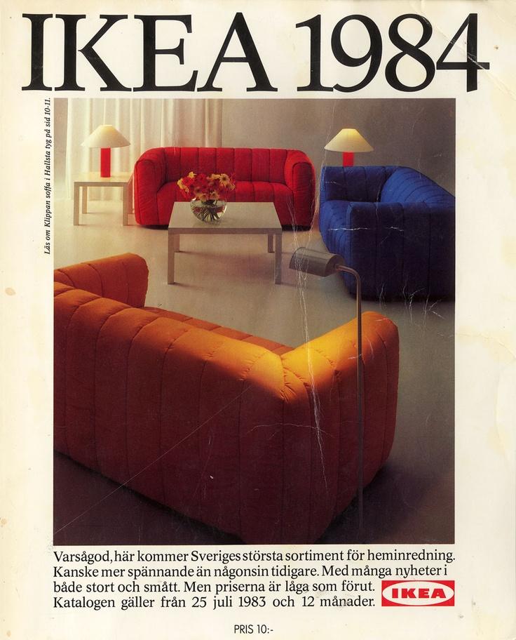 Oh My Experience Ikea Catalove 2014: IKEA-1984-Catalogue-couverture
