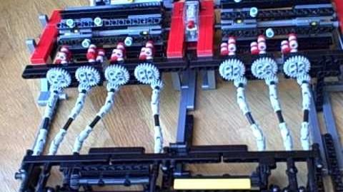 Afficher des chiffres avec des Lego