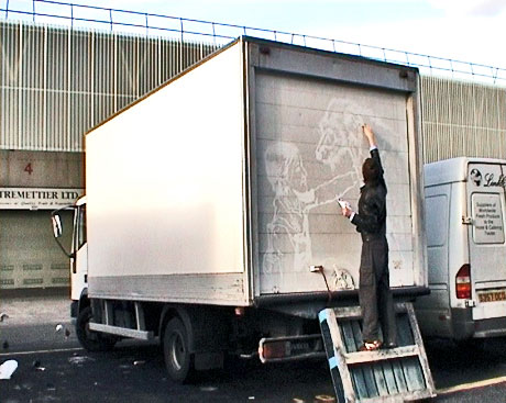 ben long art camion moche 10 la boite verte. Black Bedroom Furniture Sets. Home Design Ideas