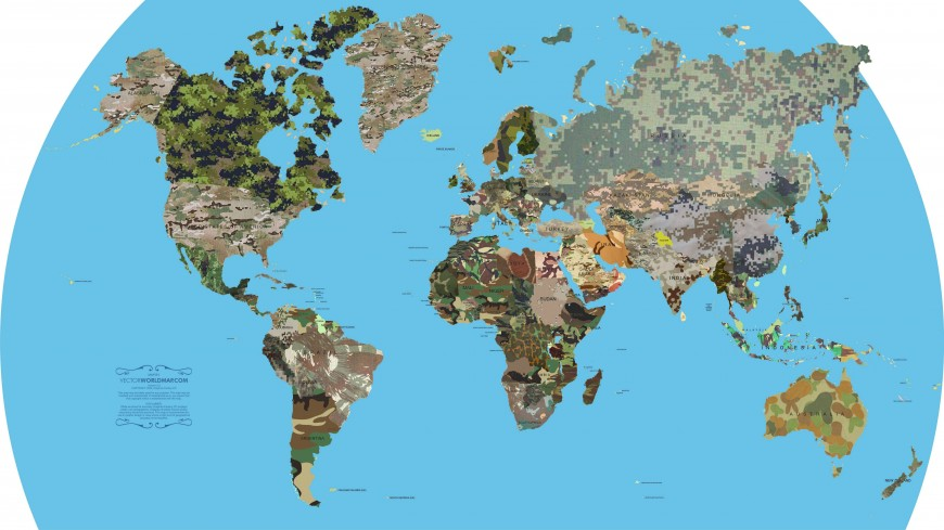 carte-monde-camouflage-militaire-pays