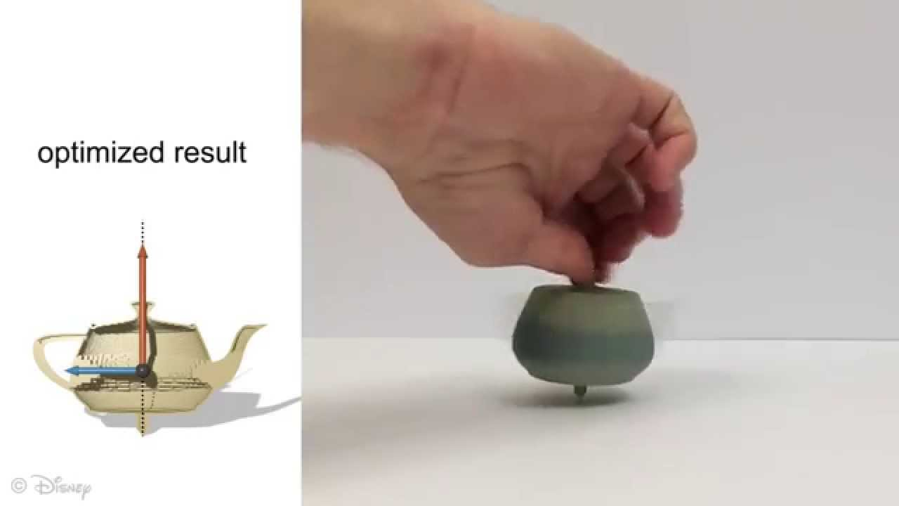 Disney transforme n'importe quel objet en toupie