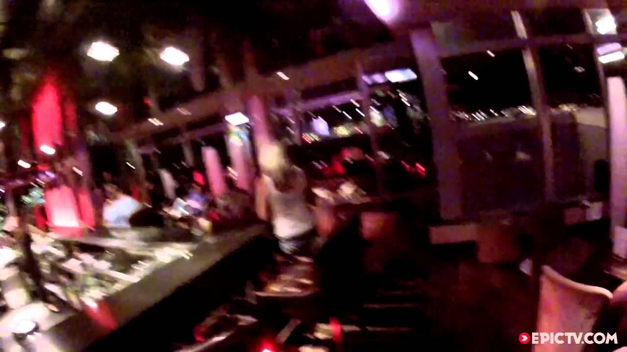 Du base jump depuis un bar de Londres