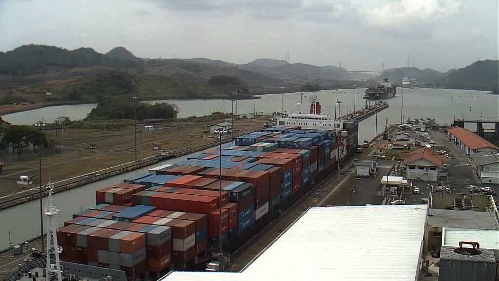 Le trafic dans le canal de Panama