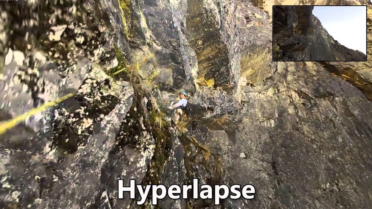 Microsoft crée des hyperlapse avec des vidéos à la première personne