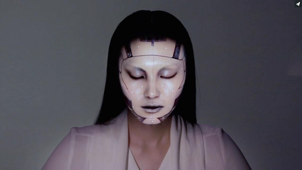 Suivi de visage et projection vidéo