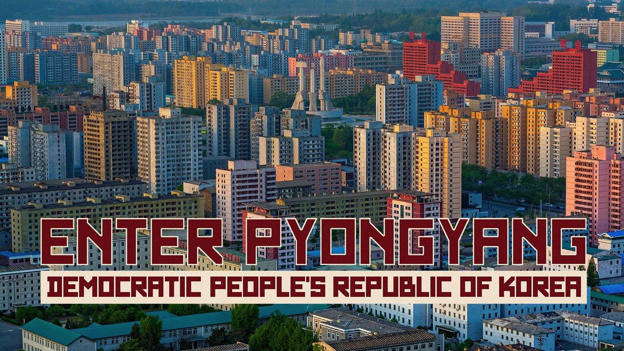 Un hyperlapse à Pyongyang en Corée du Nord