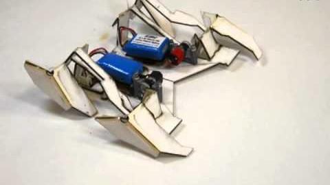 Un robot qui s'auto-plie