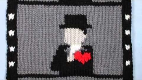 Une animation tricotée