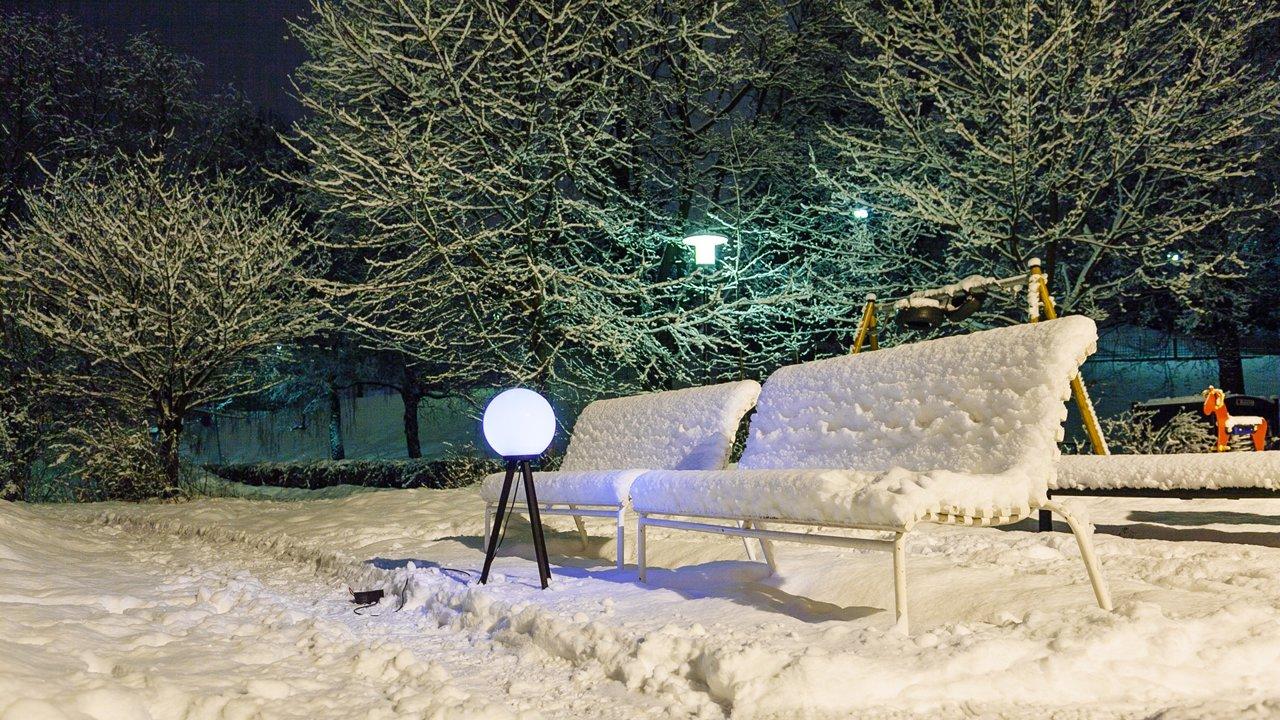 Des lampes pour visualiser la puissance des signaux GPS