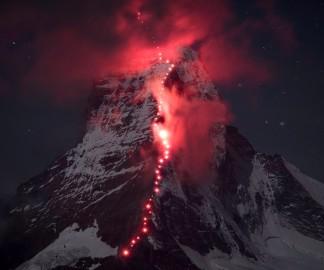Des photos d'alpinisme