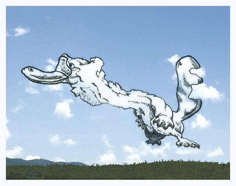 Des dessins dans les nuages - Nuage en dessin ...