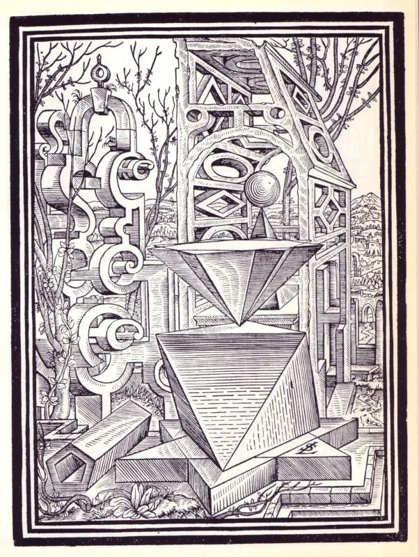 des dessins et paysages g om triques en 1567