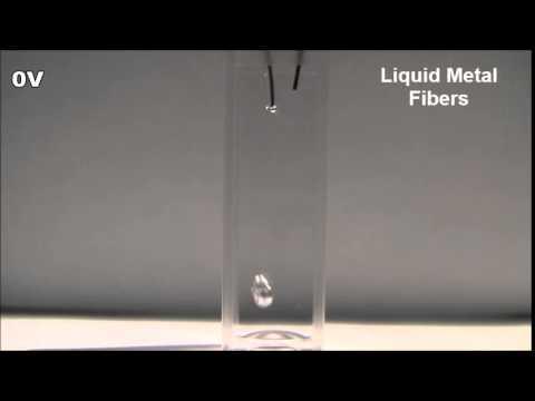 Du métal liquide qui change de forme