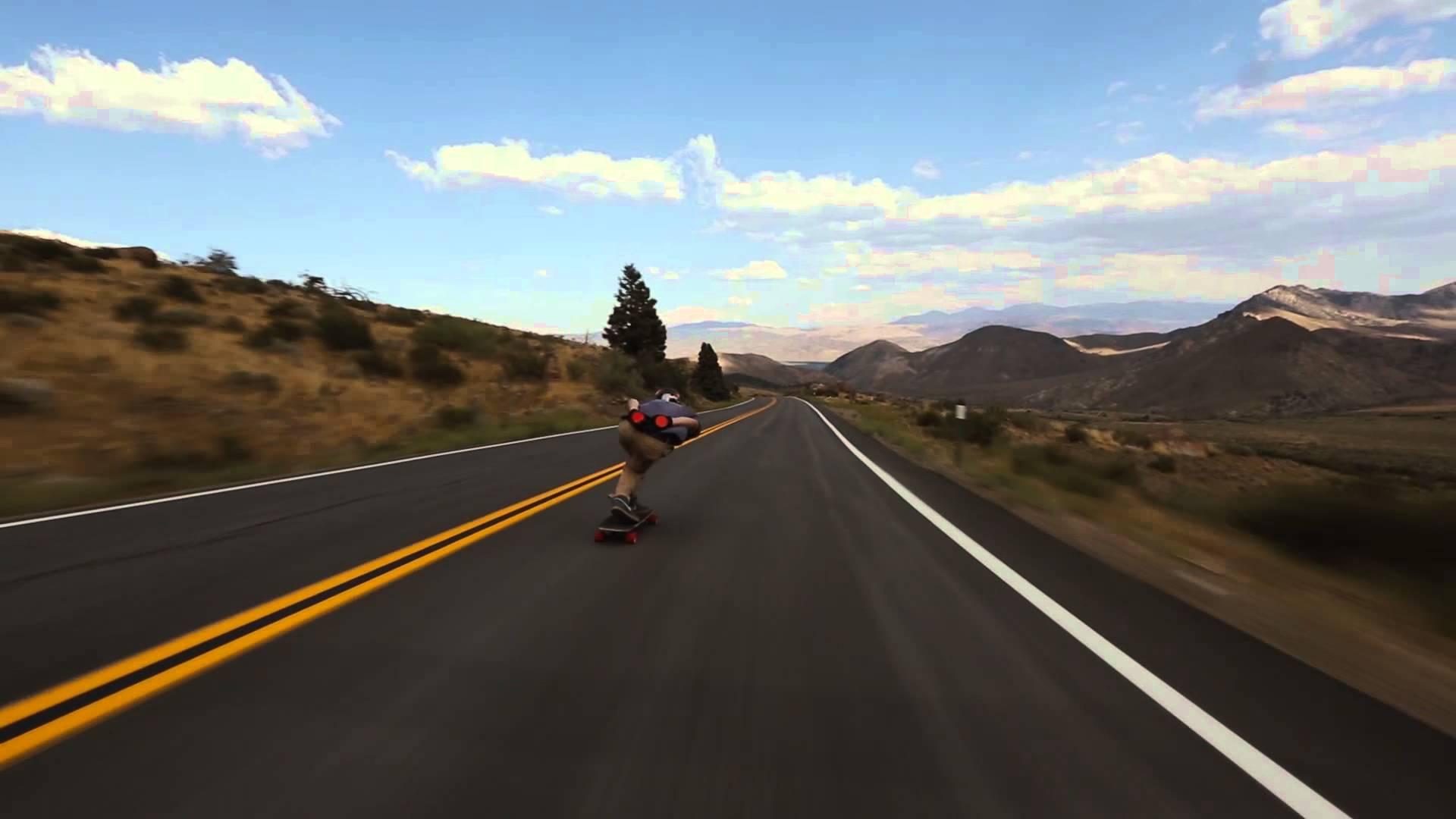 Du skateboard sur la route