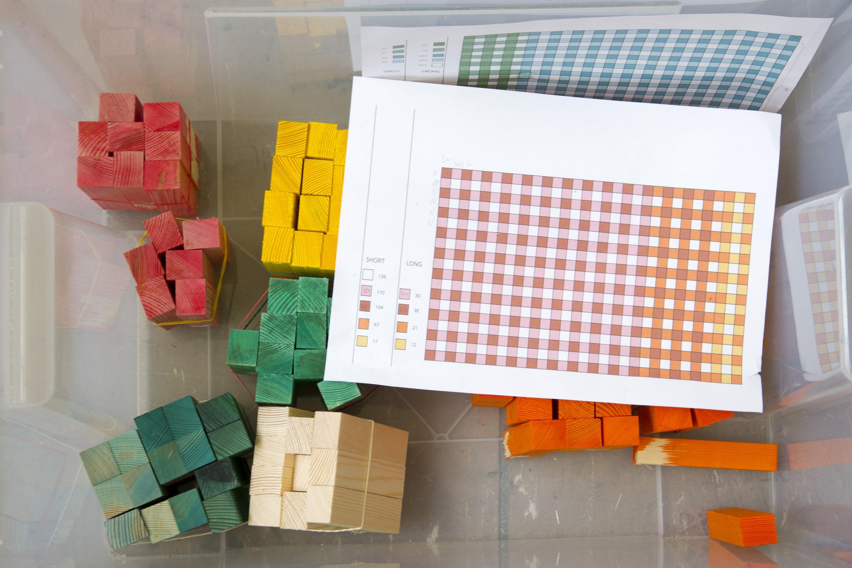 Endgrain meuble couleur marqueterie 31 la boite verte - Lincroyable maison book tower londres ...