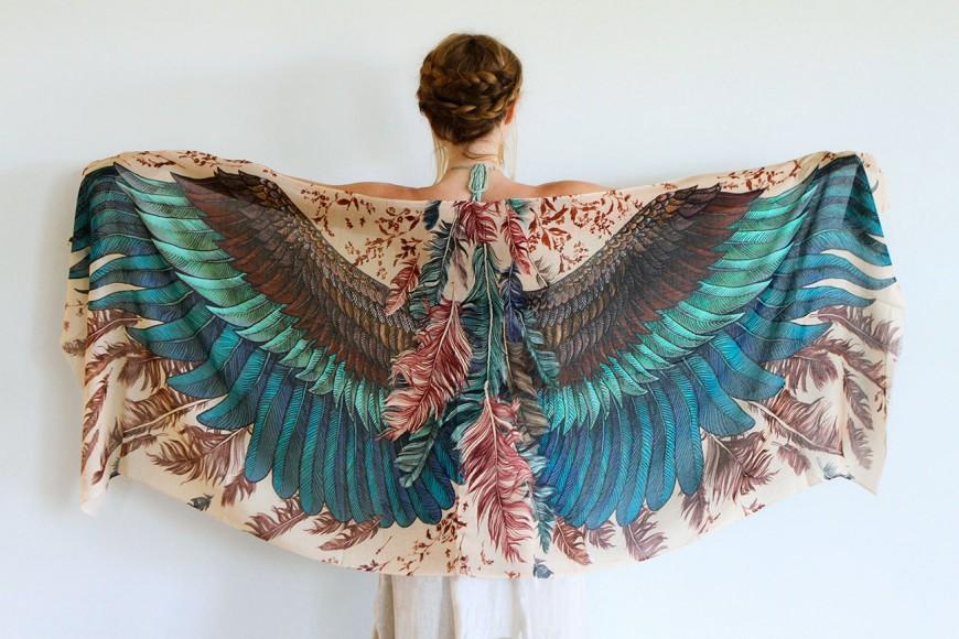 foulard-chale-oiseau-aile-plume-03