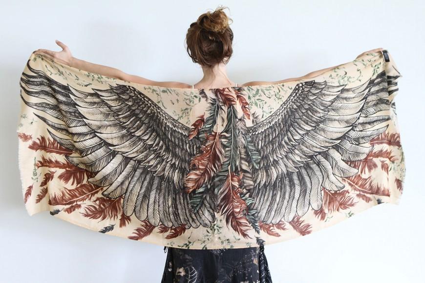 foulard-chale-oiseau-aile-plume-11