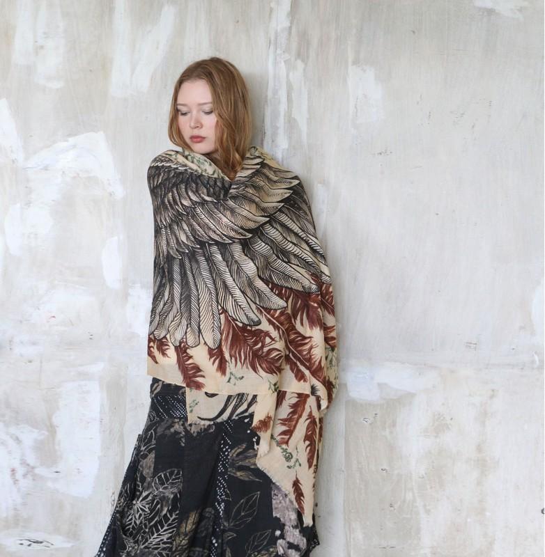 foulard-chale-oiseau-aile-plume-12