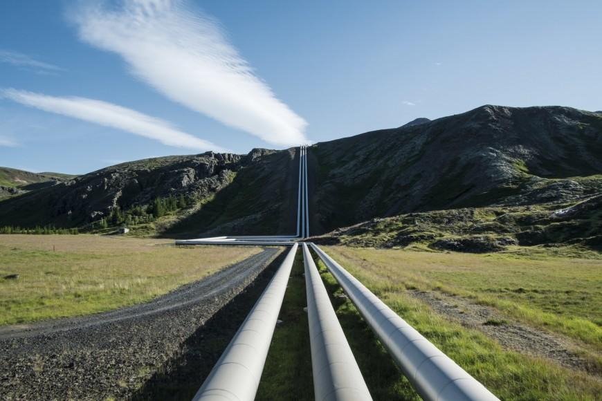 Nesjavallavirkjun  geothermal energy plant  64.102628,-21.26505
