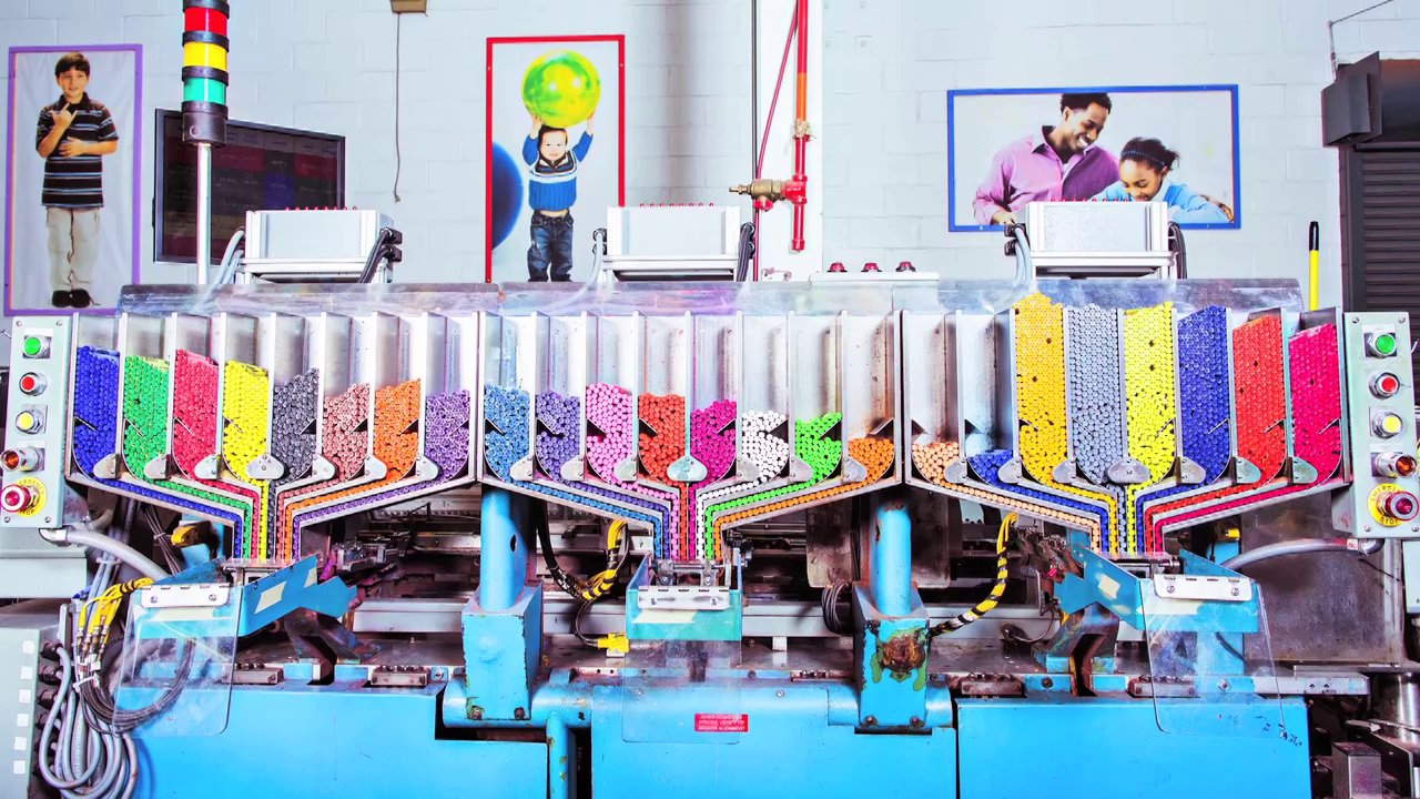 La fabrique des Crayola