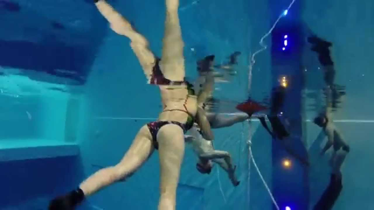 La nouvelle piscine la plus profonde du monde