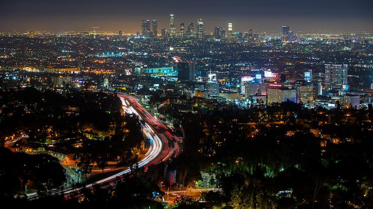 Le trafic à Los Angeles c'est beau