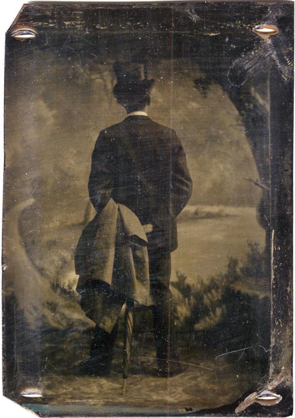 portrait-dos-photo-ancienne-vintage-05 - La boite verte