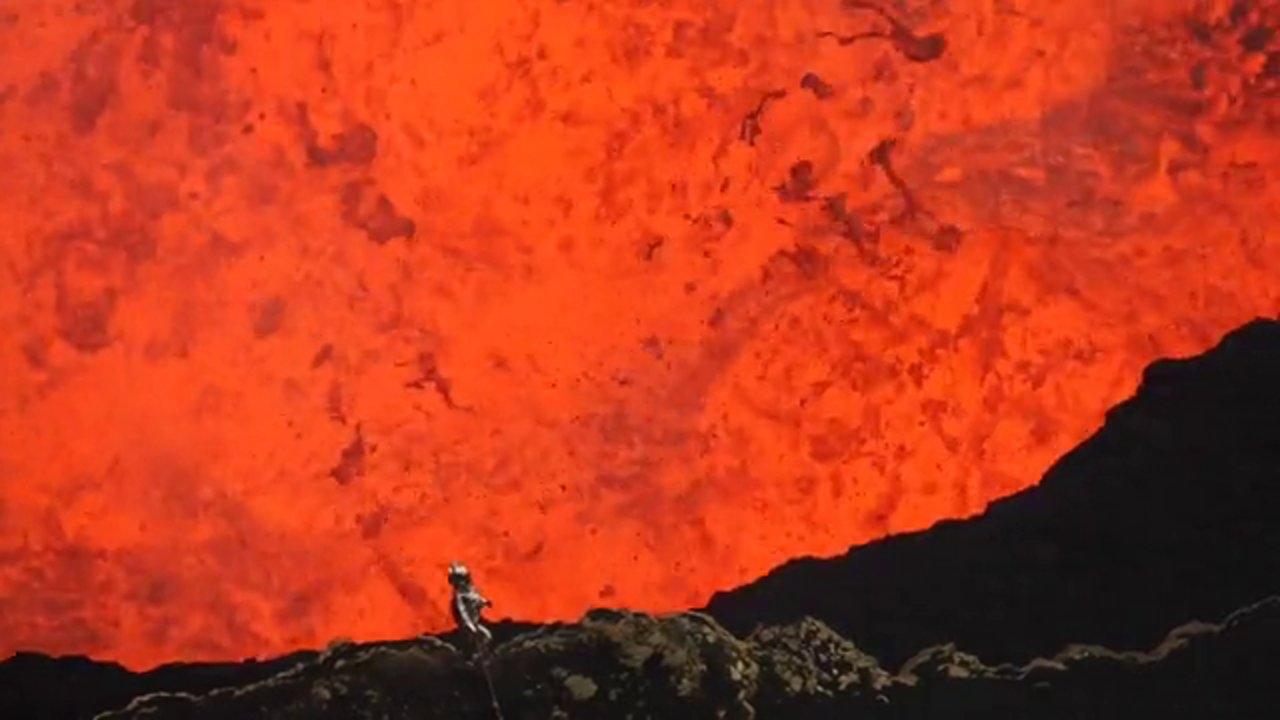 Une ballade dans un volcan