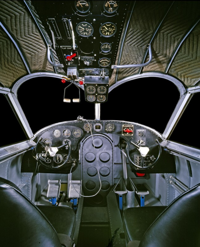 10-cockpit-avion-Grumman G-21