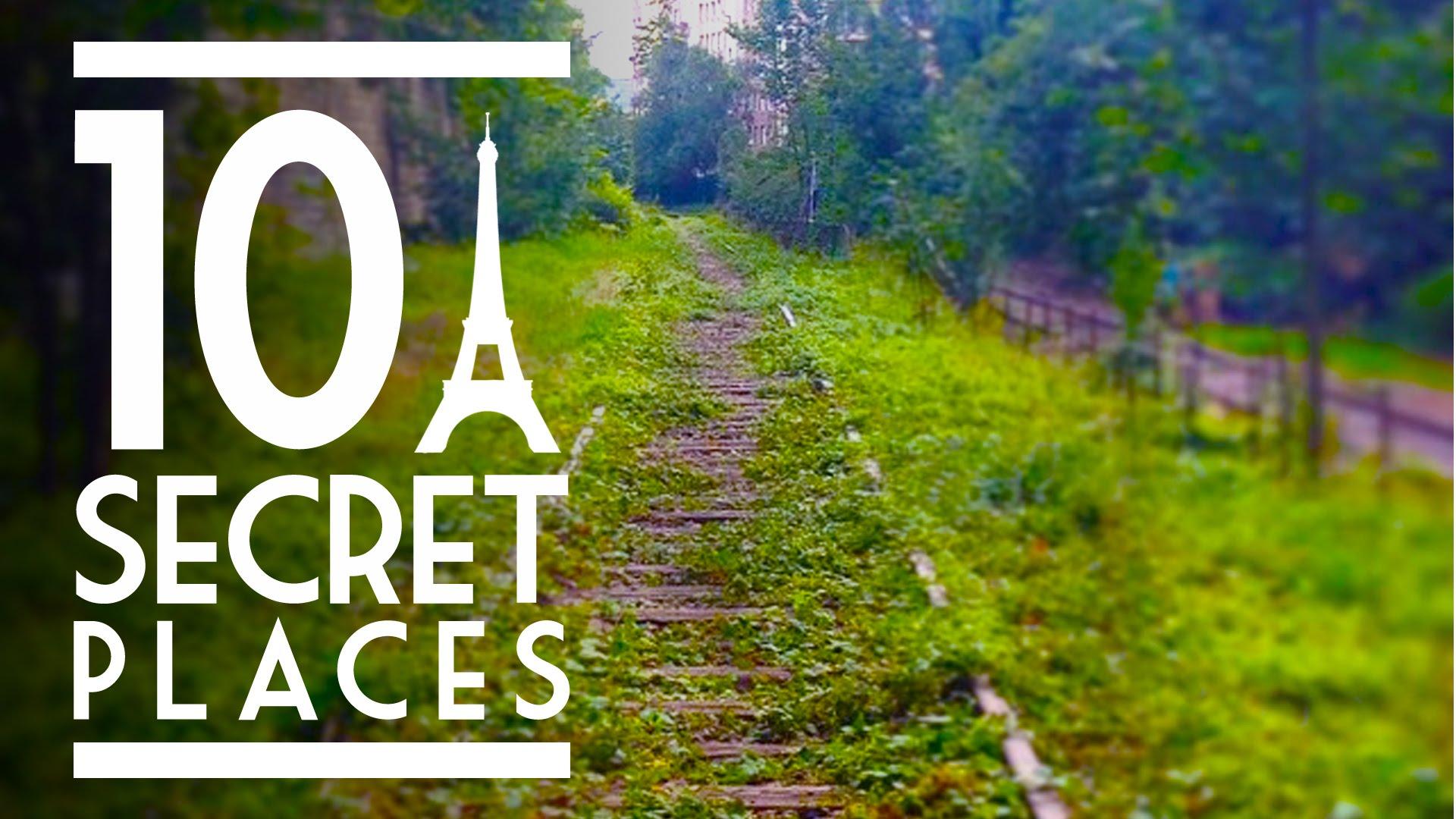 10 endroits à visiter à Paris