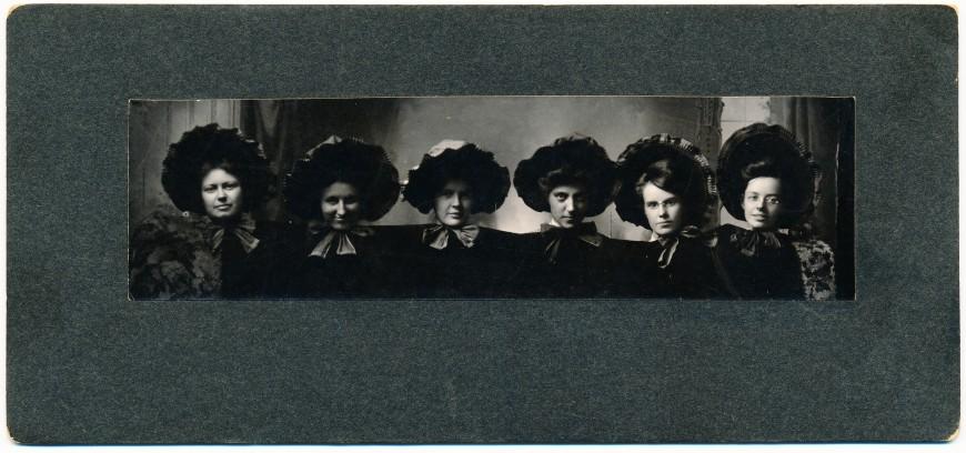6-femmes-vintage-ancien-horizontale-photo