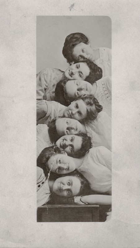 8-femmes-vintage-ancien-verticale-photo