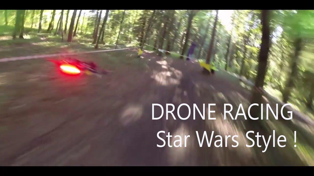 Des courses de drones en Haute-Savoie