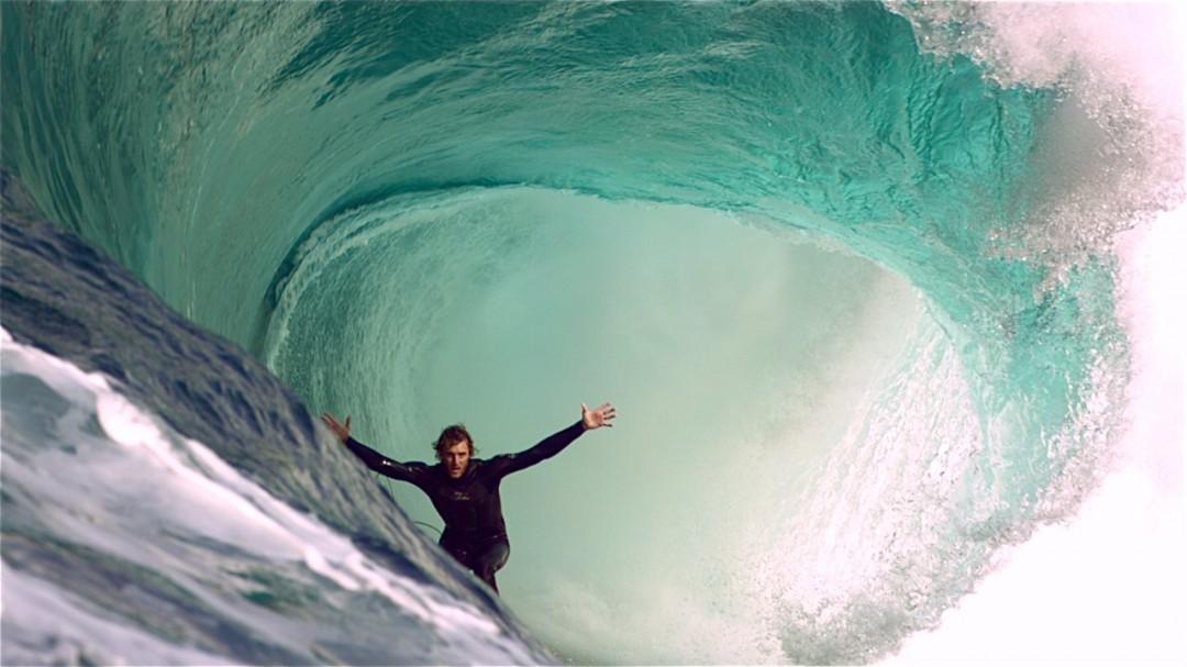 Du surf très lent ( et très beau )