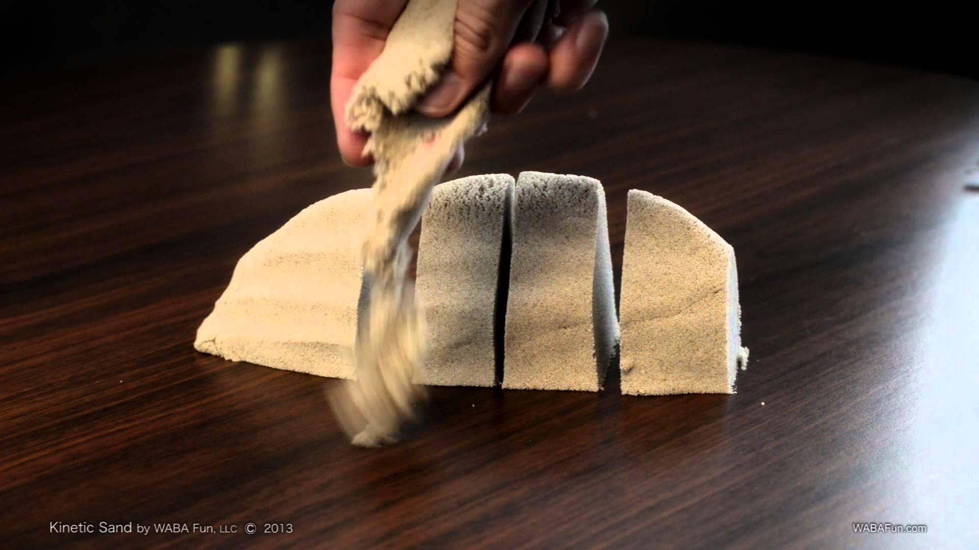 Jouez avec du sable cinétique