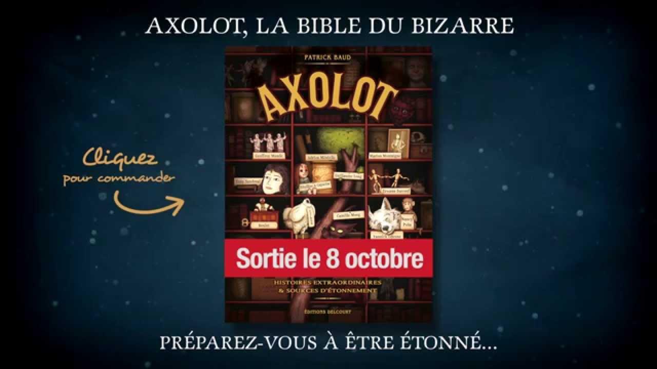 Les histoires extraordinaires de l'Axolot en BD