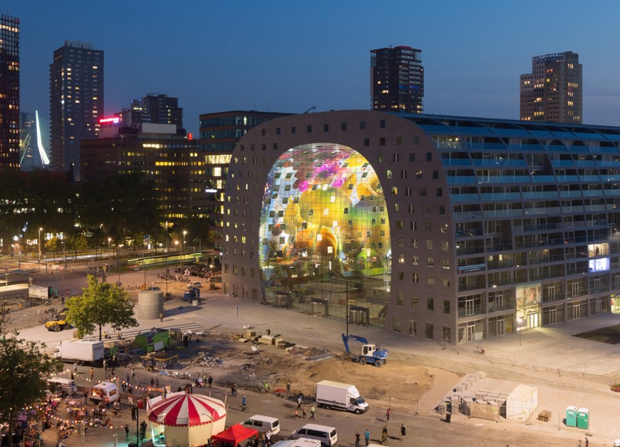 marche-aliment-Markthal-paysbas-02