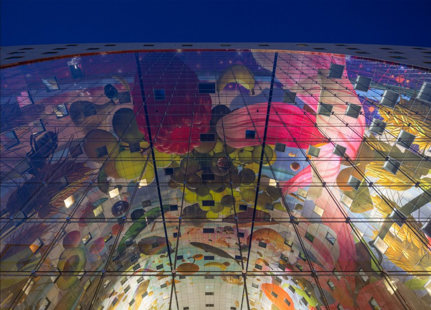 marche-aliment-Markthal-paysbas-03