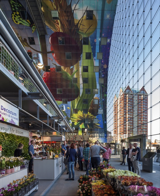 marche-aliment-Markthal-paysbas-06