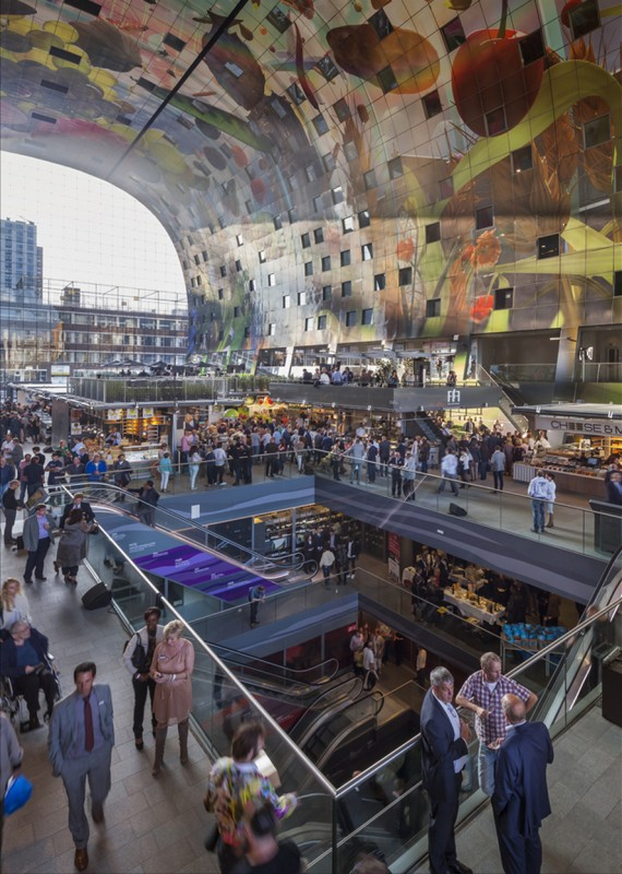 marche-aliment-Markthal-paysbas-07