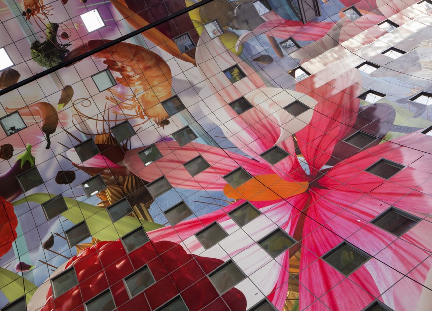 marche-aliment-Markthal-paysbas-09