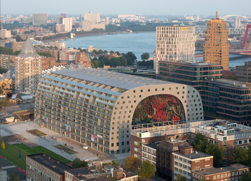marche-aliment-Markthal-paysbas-10