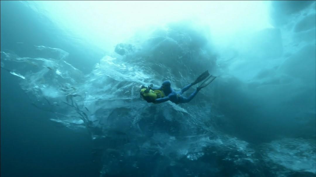 Plongez dans un iceberg