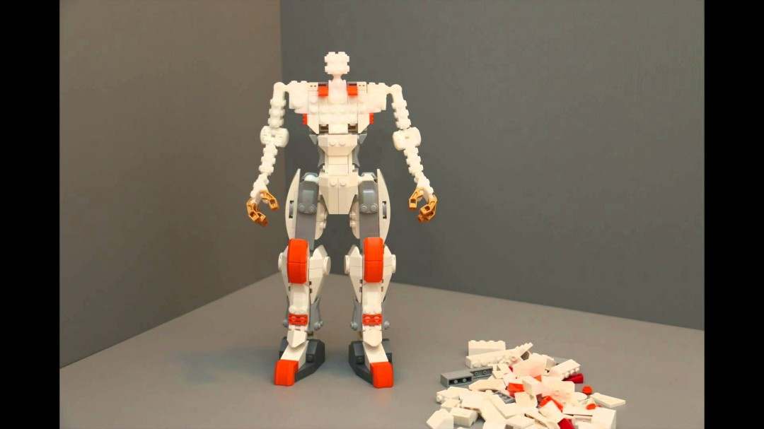 Un squelette pour robots en Lego