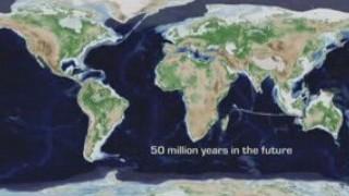 650 millions d'années de tectonique des plaques en 1m20s