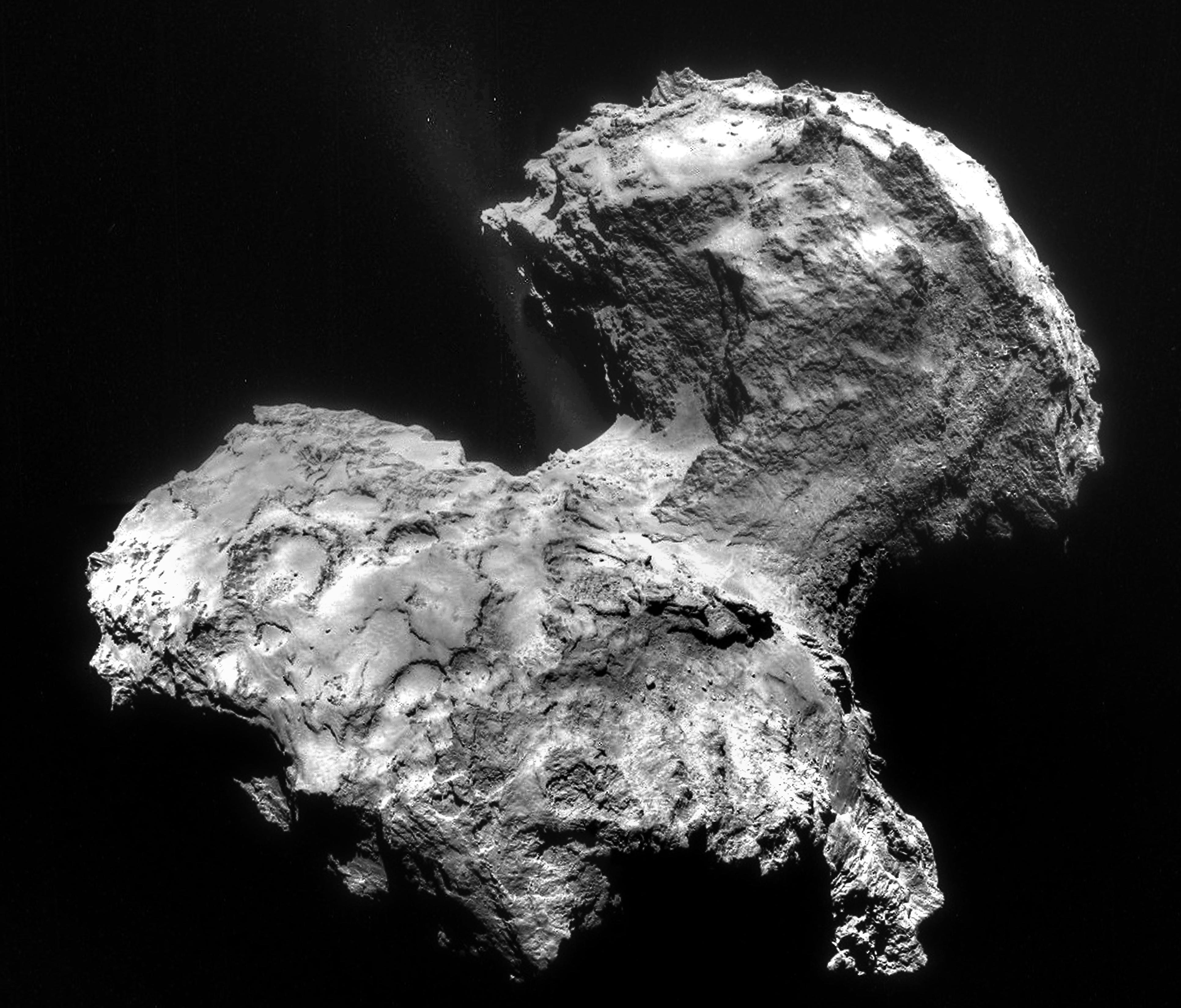 Les meilleures images de Rosetta avant l'atterrissage de ... Rosetta