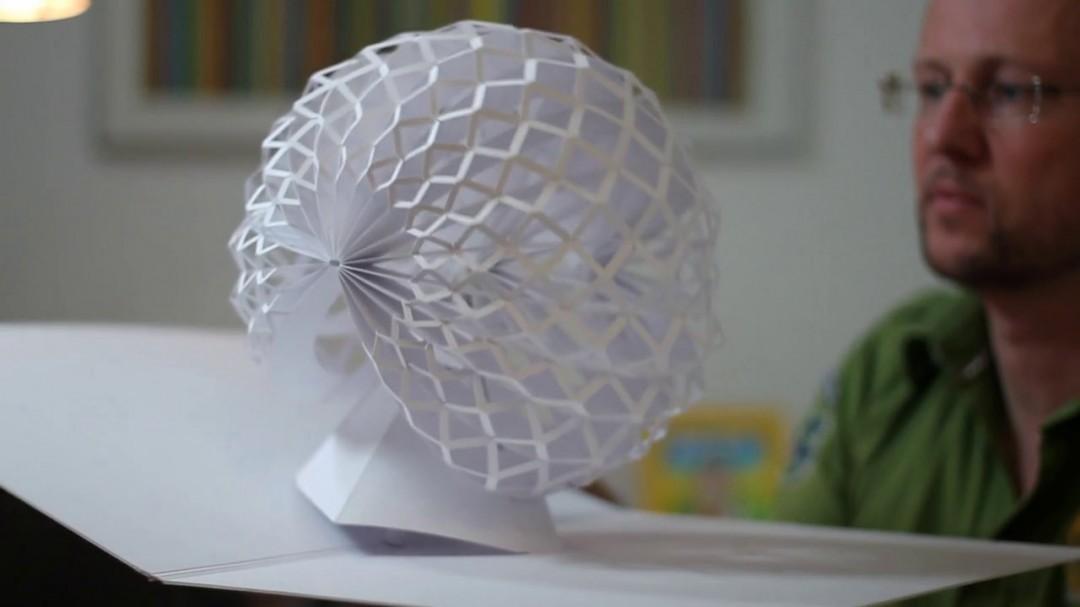 Des sculptures Pop-up en papier