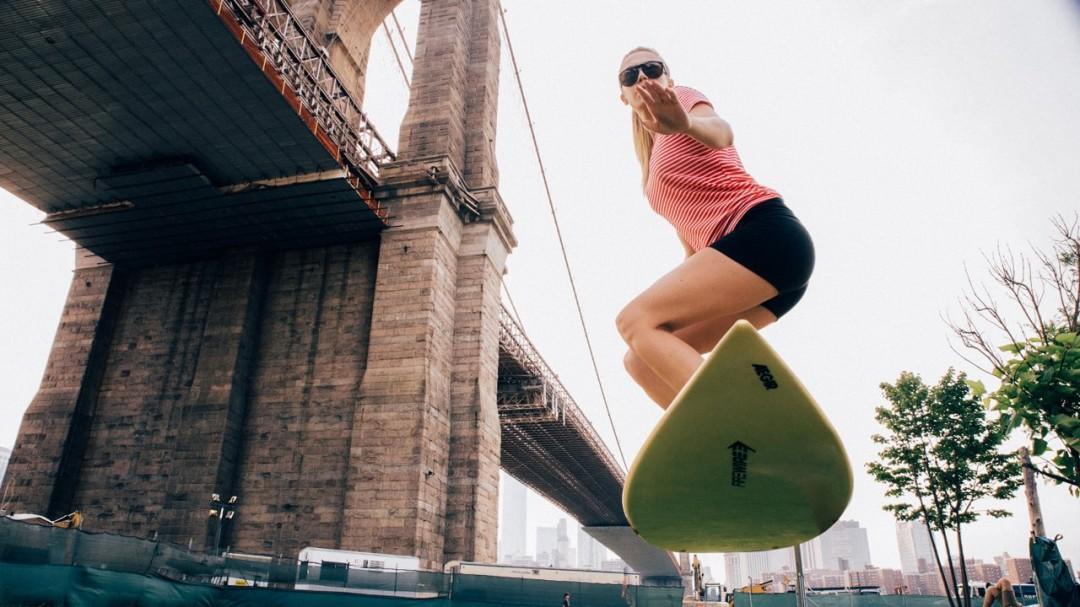 Du surf aérien à New York
